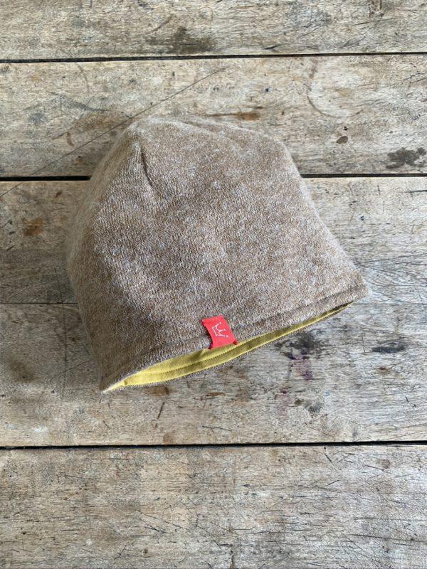Angora-Jersey Mütze