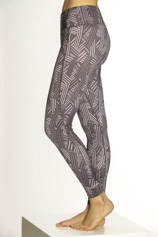 Yoga Shape Leegging Damen Geometry YogiLiebe
