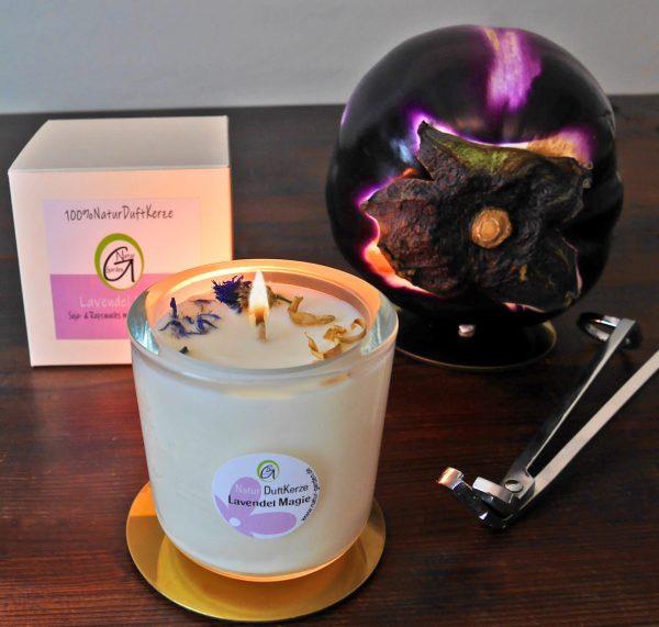 Natur Duftkerze Lavendel Magie